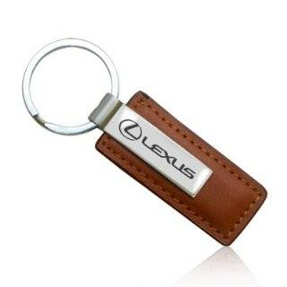 Lexus Black Leather Key Chain Automotive