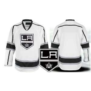 Los Angeles Kings Authentic NHL Jerseys Blank AWAY White Hockey Jersey