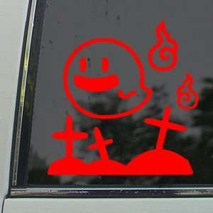 MARIO Red Decal GHOST NES BOO NINTENDO WII Car Red Sticker