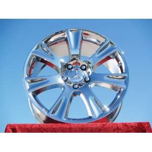 Mercedes Benz CL550 Set of 4 genuine factory 18inch chrome
