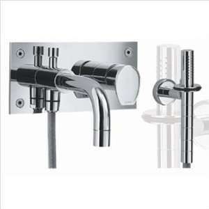 Wall Mount Bath Shower Mixer Finish Polished Chrome