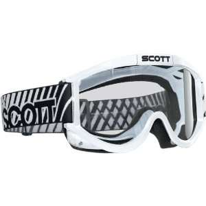 87 OTG Adult Off Road Motorcycle Goggles Eyewear   Color White/Clear