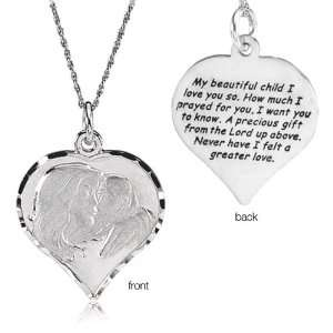 My Beautiful Child Necklace, Sterling Silver Jewelry