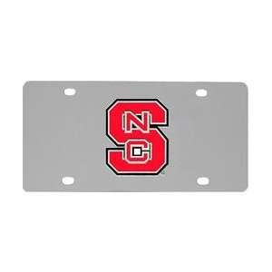 North Carolina State Wolfpack License Plate / Wall Plaque   NC