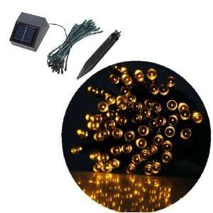 35ft 60 LED Solar String Fairy Lights Outdoor Waterproof For Ceremony