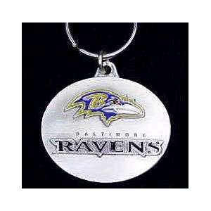 NFL Design Key Ring   Baltimore Ravens