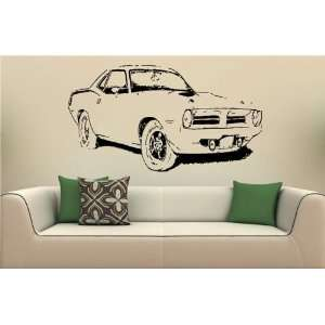 Vinyl Decal Stickers Car Plymouth Barracuda 1970 S2087