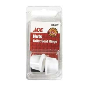 Pack/2 x 6 Ace Toilet Seat Hinge Nuts (064058)