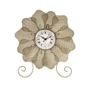 with Scrolled Feet Table Top or Wall Mount Clock