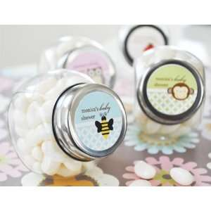 Baby Animals Personalized Candy Jars