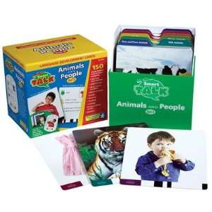 2693 Card Set #3 Animals and People (Smart Talk) Toys & Games