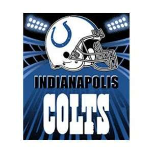 Indianapolis Colts Fleece NFL Blanket (Shadow Series) by