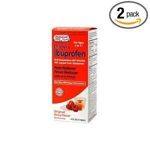 Childrens Ibuprofen Oral Suspension Pain Reliever Fever