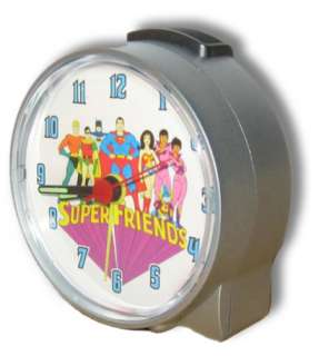 Super Friends Alarm Clock Superman Batman Wonder Woman