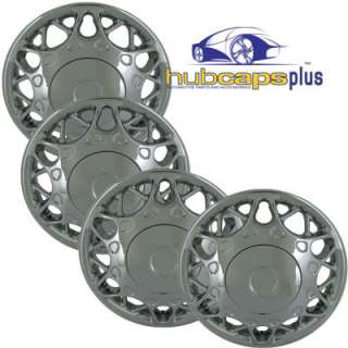 BUICK 15 CHROME HUB CAPS RIMS WHEEL COVERS FREE SHIP