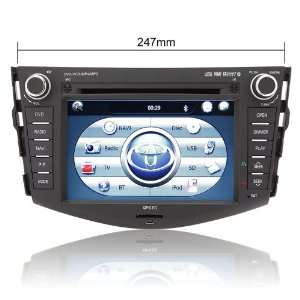Rupse 7 inch DVD GPS player Bluetooth iPod with Digital Touch Screen