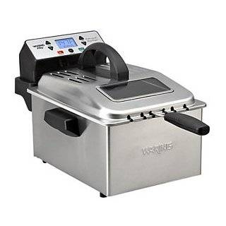 Waring DF280 Professional Deep Fryer, Brushed Stainless
