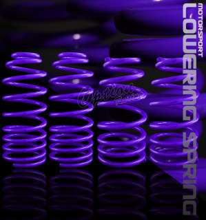 ECLIPSE PURPLE LOWERING SPRING COMPLETE KIT ( FRONT 2.25/ REAR 2