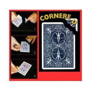 Cornered JB Cards Magic Trick Bicycle Poker Visual Toys