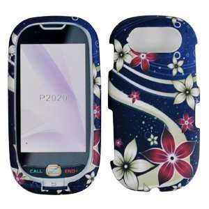 Brown Red Galaxy Flower Design Rubberized Snap on Hard Skin Shell